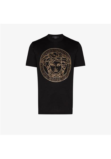 T-shirt nera VERSACE | T-SHIRT | A77987A201952A1008