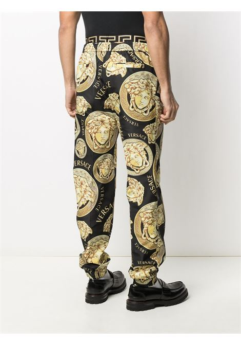 Black/gold trousers VERSACE |  | A885381F005395B000