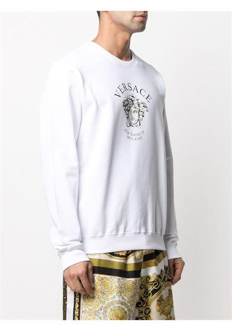 White sweatshirt VERSACE |  | A88693A231242A1001