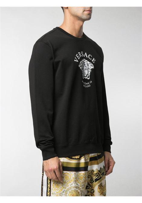 Black sweatshirt VERSACE |  | A88693A231242A1008