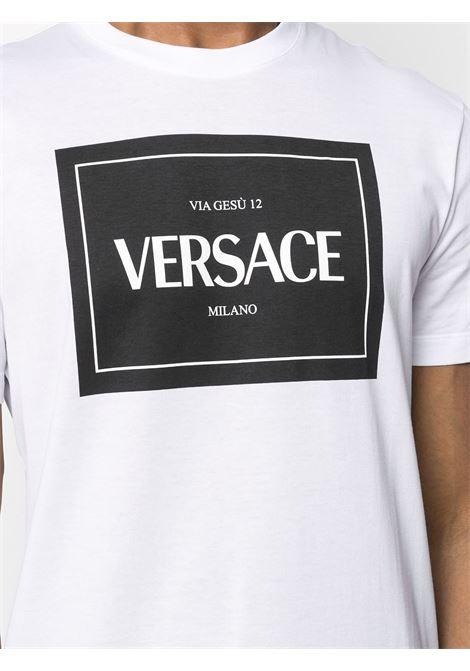 White t-shirt VERSACE |  | A89296A228806A1001