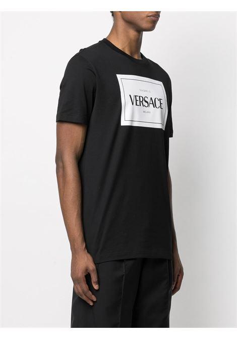 Black t-shirt VERSACE |  | A89296A228806A1008