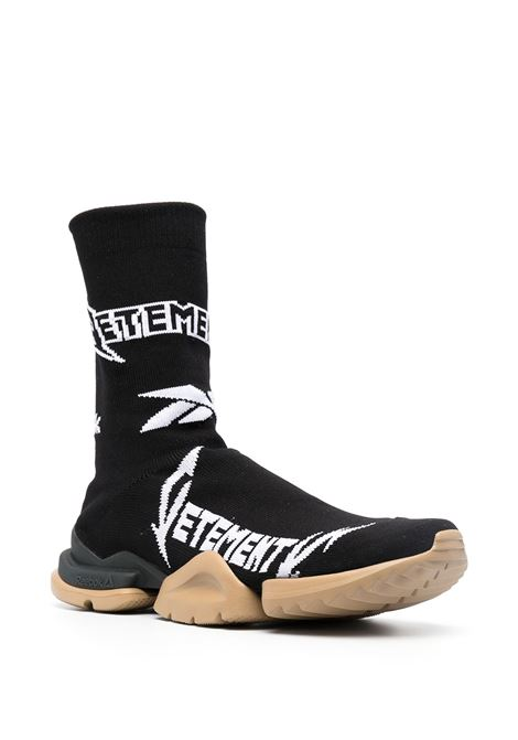 Sneakers nera VETEMENTS | SNEAKERS | UE51SN600B1385BLACKWHITE