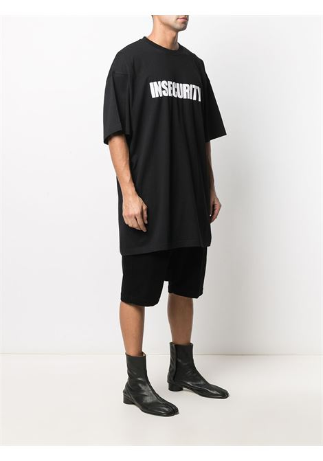 T-shirt nera VETEMENTS | T-SHIRT | UE51TR320B1600BLACK
