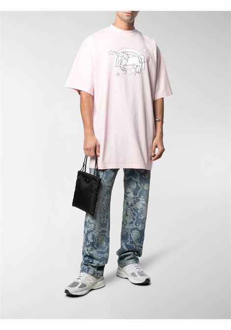 Pink t-shirt VETEMENTS | T-SHIRT | UE51TR390P1600BABYPINK