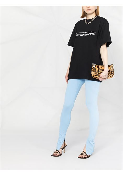 t-shirt nera VETEMENTS | T-SHIRT | UE51TR410B1611BLACK