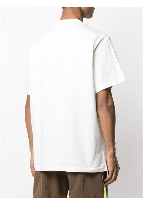 T-shirt bianca VETEMENTS | T-SHIRT | UE51TR620W1611WHITE