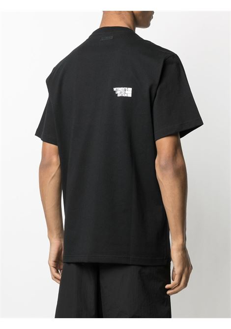 T-shirt nera VETEMENTS | T-SHIRT | UE51TR720B1611BLACK