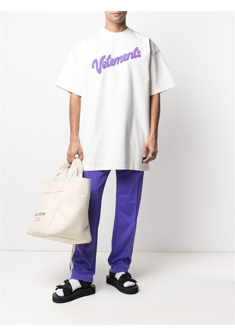 T-shirt bianca VETEMENTS | T-SHIRT | UE51TR760W1614WHITE