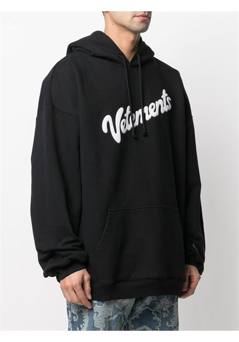 Felpa nera VETEMENTS | FELPE | UE51TR770B1604BLACK