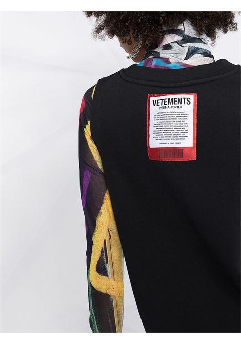 Vestito nero VETEMENTS | ABITI | WE51DR900B1601BLACK