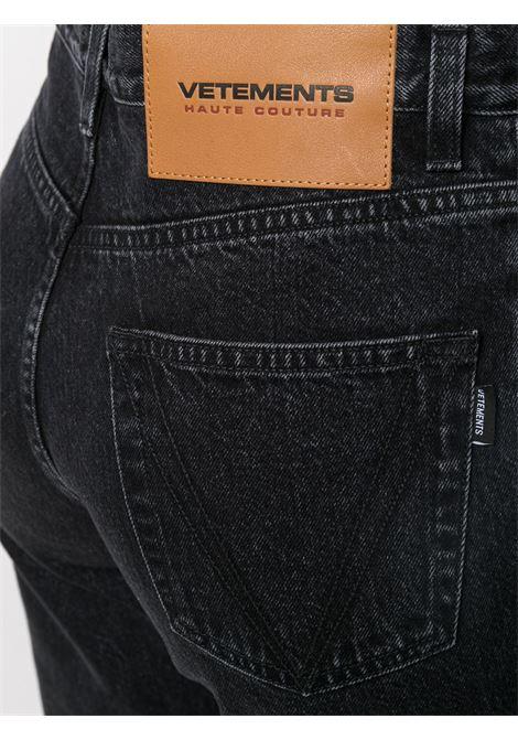 Jeans nero VETEMENTS | JEANS | WE51PA140B2803BLACK