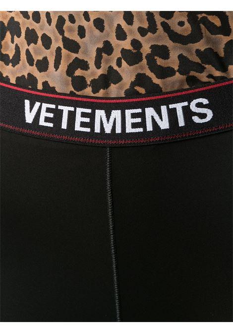 Leggings VETEMENTS | LEGGINGS | WE51PA640B1332BLACK