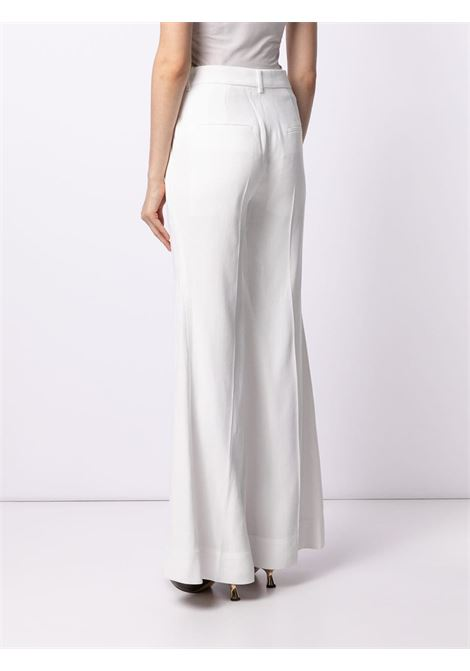 White trousers VICTORIA BECKHAM | TROUSERS | 1221WTR002612B7126