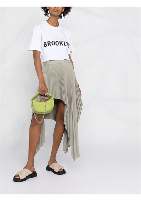 T-shirt bianca VICTORIA BECKHAM | T-SHIRT | 2221JTS002511AWHITE