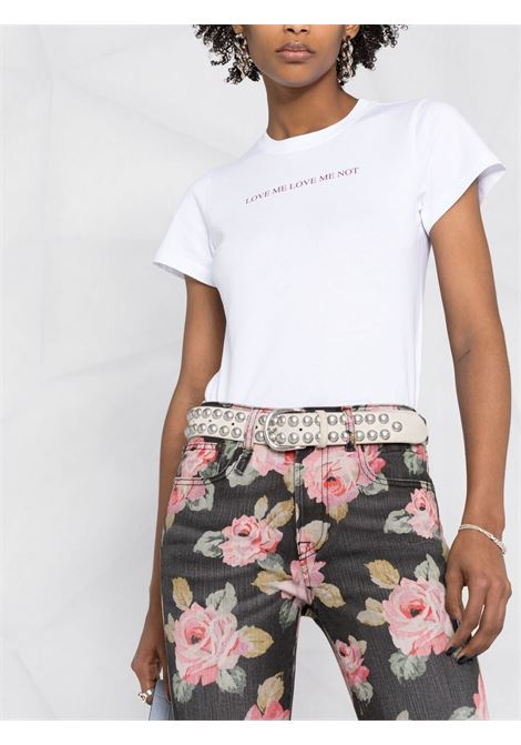 T-shirt bianca VICTORIA BECKHAM | T-SHIRT | 2221JTS002749AWHITE