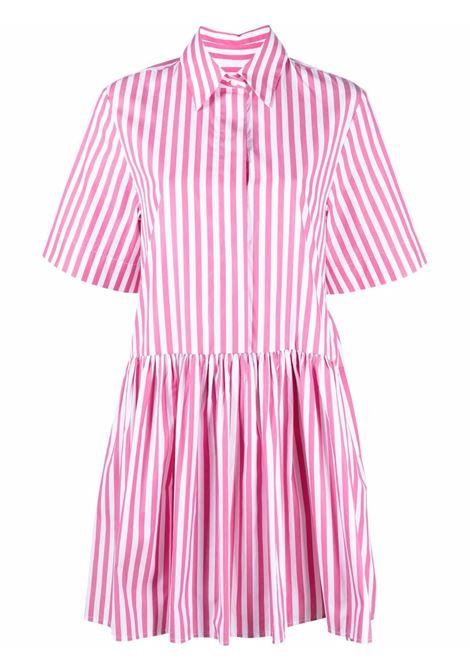 Pink dress VICTORIA BECKHAM | DRESS | 2221WDR002557ACLARETWHITE