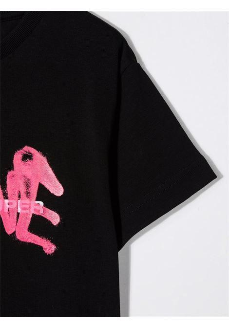 T-shirt nera VISION OF SUPER KIDS | T-SHIRT | VOSKB1SPRAYFUBLACK