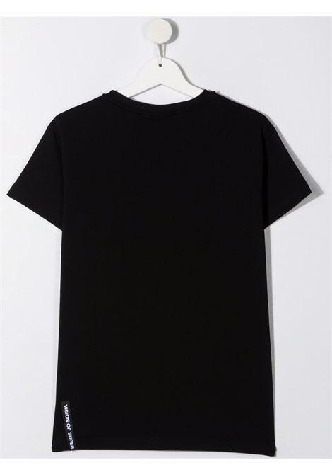 T-shirt nera VISION OF SUPER KIDS | T-SHIRT | VOSKB1SPRAYFUTBLACK