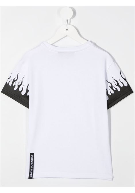 T-shirt bianca VISION OF SUPER KIDS | T-SHIRT | VOSKW1FLBLACKWHITE