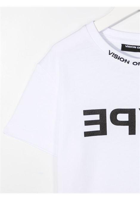 T-shirt bianca VISION OF SUPER KIDS | T-SHIRT | VOSKW1HYPEBLWHITE