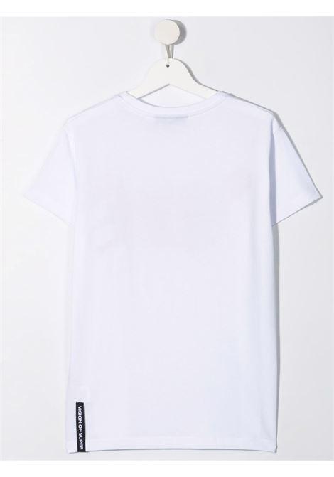T-shirt bianca VISION OF SUPER KIDS | T-SHIRT | VOSKW1SPRAYREDTWHITE