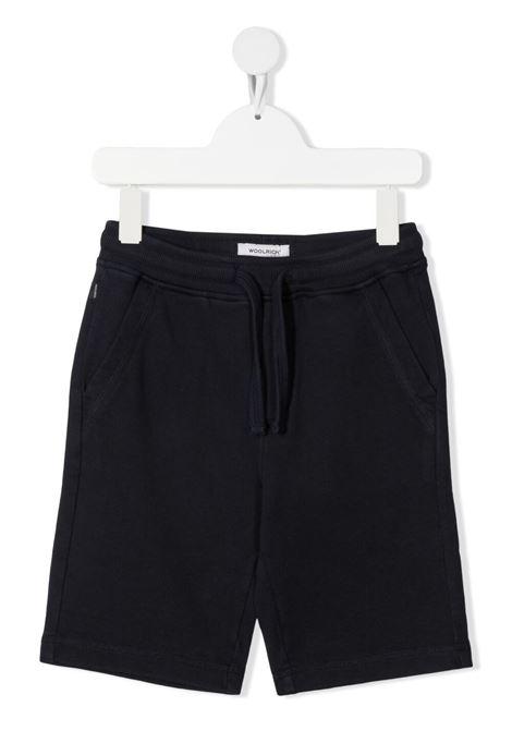 Shorts blu WOOLRICH KIDS | CFWKSH0030MRUT22163195