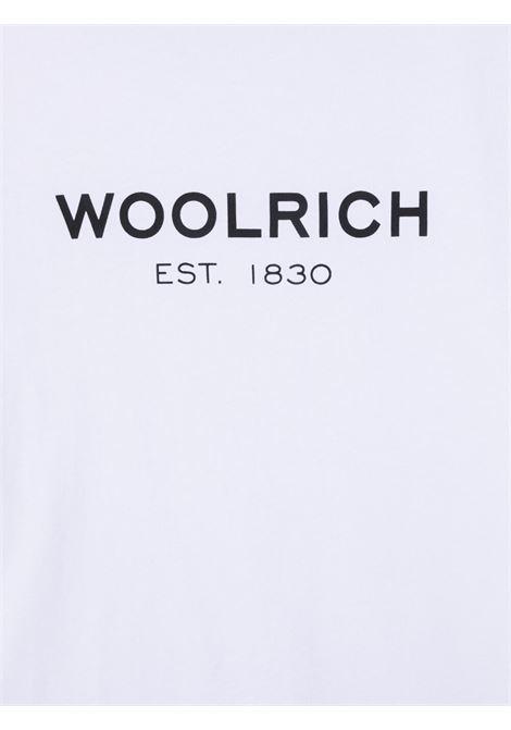 T-shirt bianca WOOLRICH KIDS | T-SHIRT | CFWKTE0080MRTUT14868041