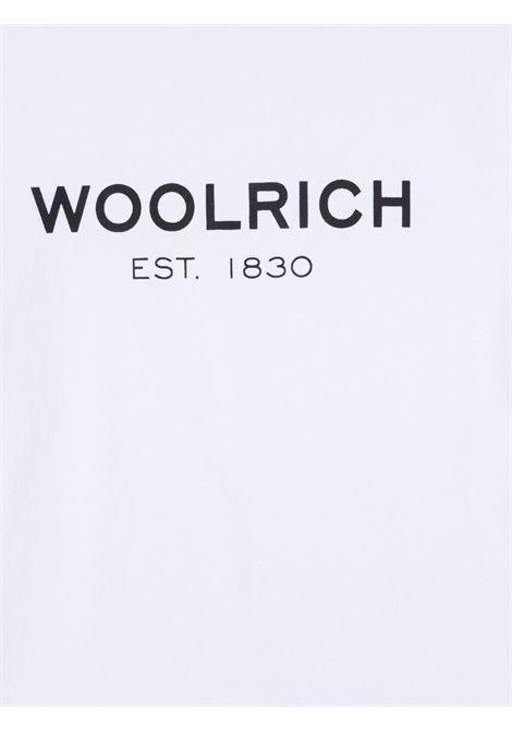 T-shirt bianca WOOLRICH KIDS | T-SHIRT | CFWKTE0080MRUT14868041