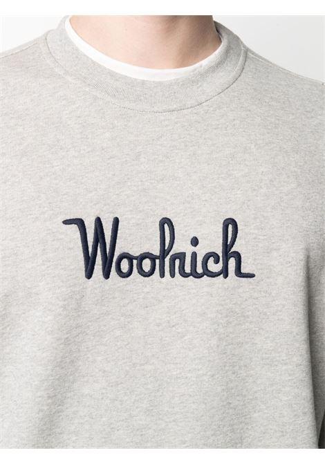 Felpa grigia WOOLRICH | FELPE | CFWOSW0090MRUT2544103