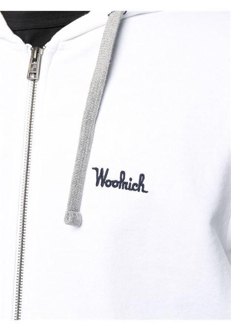 Felpa bianca WOOLRICH | FELPE | CFWOSW0091MRUT25448041