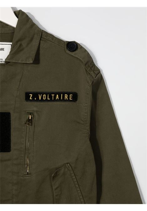 Giacca verde ZADIG & VOLTAIRE KIDS | GIACCHE | X16060T656