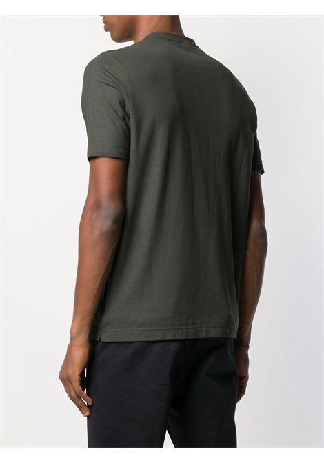 T-shir verde ZANONE | T-SHIRT | 811821Z0380Z0049