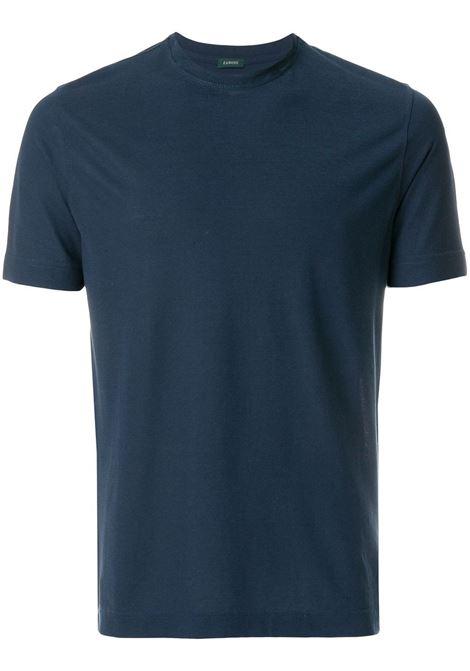 T-shirt blu ZANONE | T-SHIRT | 811821Z0380Z0178