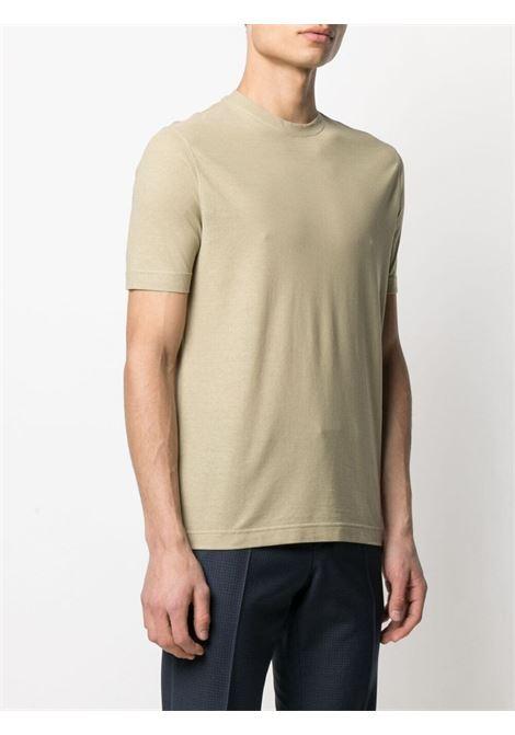 T-shirt verde ZANONE | T-SHIRT | 811821Z0380Z1284