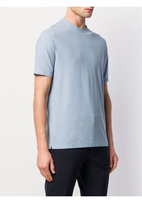 T-shirt azzurra ZANONE | T-SHIRT | 811821Z0380Z2036