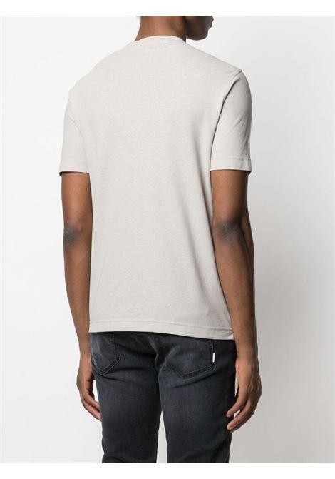 T-shirt grigia ZANONE | T-SHIRT | 811821Z0380Z5252