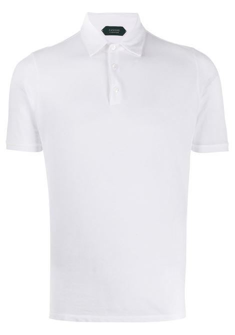 Polo bianca ZANONE | POLO | 812293ZJ397Z0001