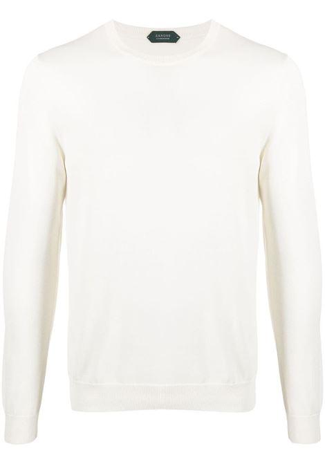 Maglione bianco ZANONE | MAGLIONE | 812472ZY318Z3372