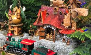 The North Pole, U.S. Botanic Garden's Season's Greenings Exhibit