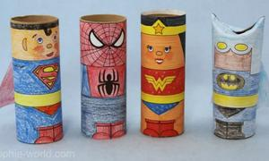 TP Tube Superhero from Sophie's World