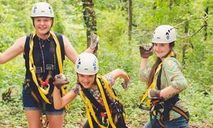 Photo: Treetop Zipline Tour at Salamander Resort & Spa