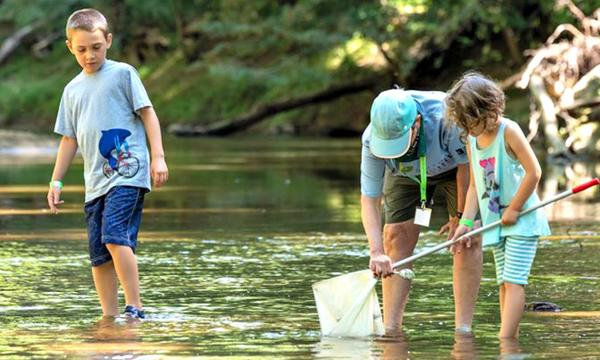 Wild for Water Day at Robinson Nature Center. Photo Courtesy of Robinson Nature Center