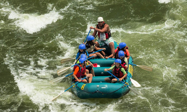 Calleva Family-Friendly Rafting Trip