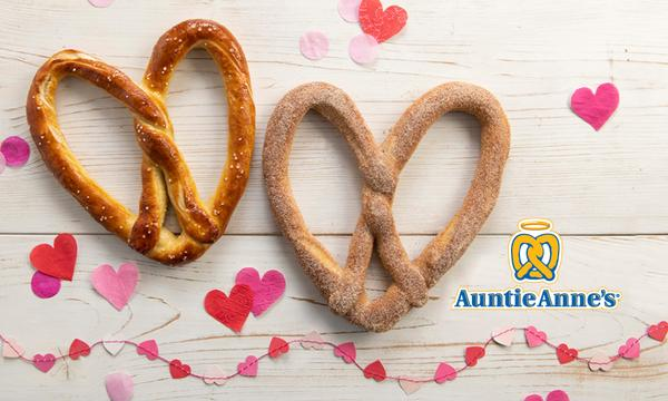 Auntie Annie's Heart-Shaped Pretzels