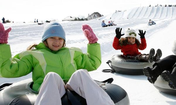 Photo: AvalancheXpress Snow Tubing