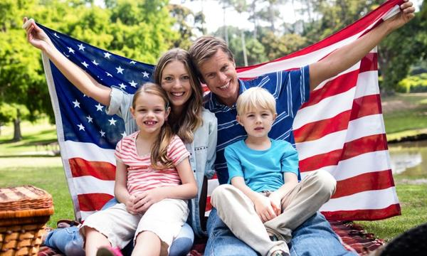 Photo: Family-Friendly July 4th Party