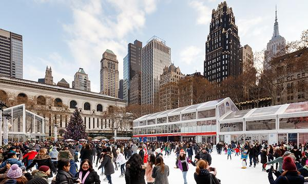 Photo: Bank of America Winter Village at Bryant Park, NYC by Collin Miller