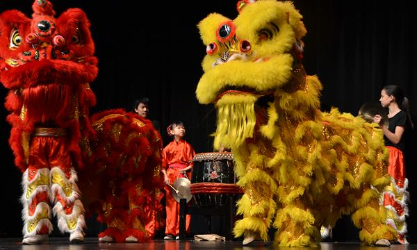 City of Rockville Lunar New Year Celebration at Richmond Montgomery High School, Rockville, MD