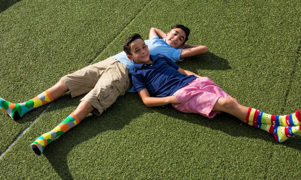 Brandon and Sebastian Martinez, Founders of Are You Kidding socks